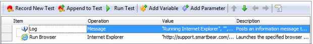 The RunningBrowser Test