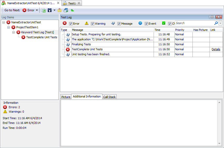 Unit Testing Example - TestComplete Support   SmartBear