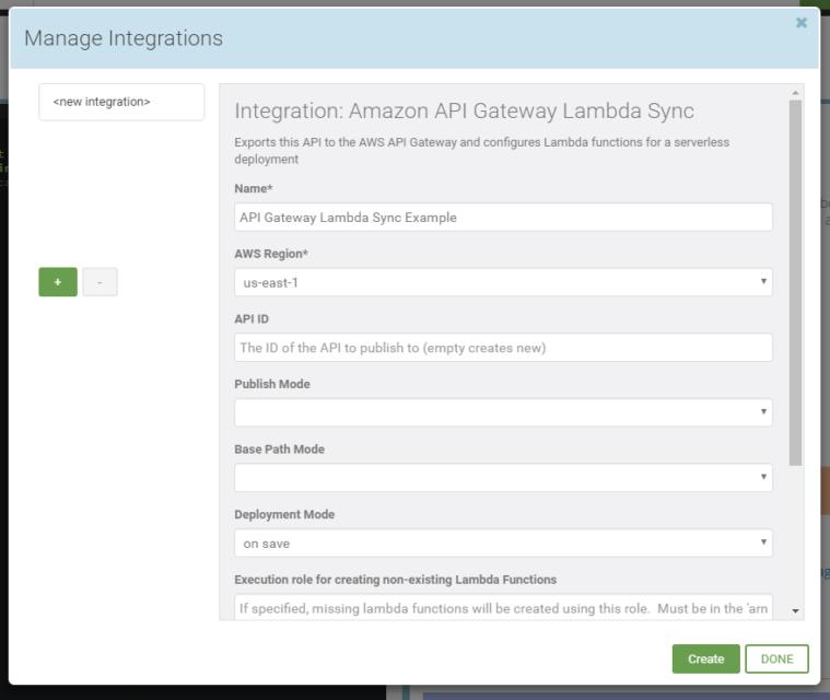 API Gateway Lambda