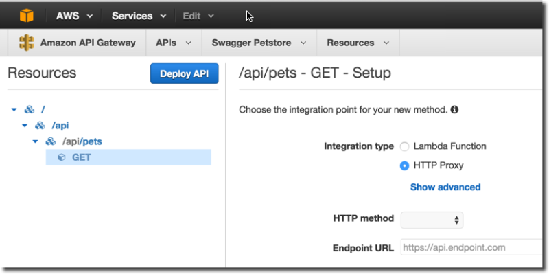 Getting Started with the Amazon Swagger Importer | Swagger