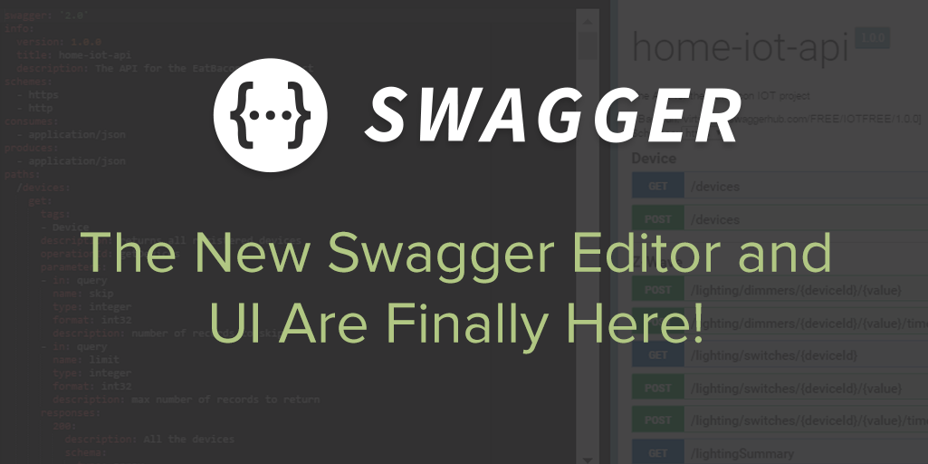 The New Swagger Editor and UI Are Finally Here! | Swagger