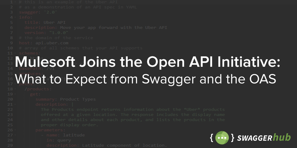 Mulesoft joins the open api initiative what to expect from swagger mulesoft joins the open api initiative what to expect from swagger and the oas malvernweather Gallery