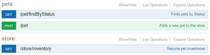 OpenAPI tags in Swagger UI
