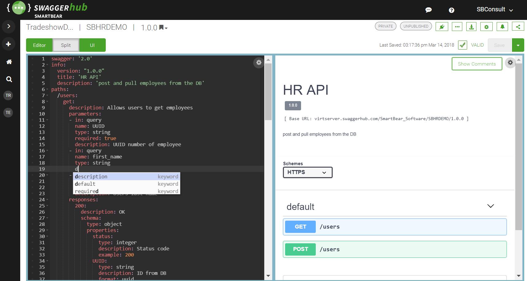 API Design for Teams in SwaggerHub