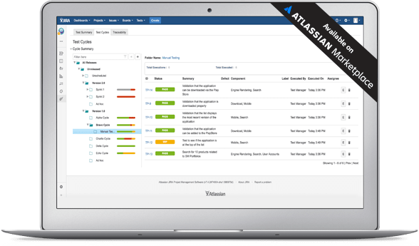 Test Management Add Ons For Atlassian sold on marketplace
