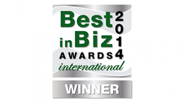 Best In Biz award logo