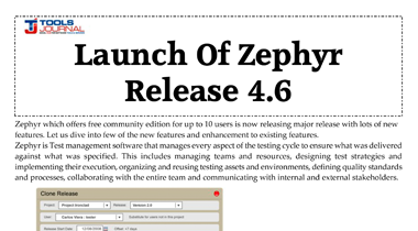 Zephyr Launch 4.6