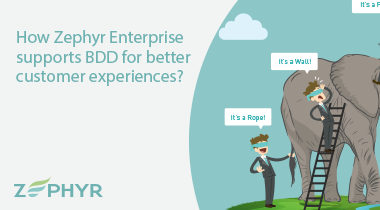 How Zephyr Enterprise supports BDD for better customer experiences?