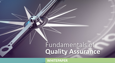 Fundamentals of Quality Assurance