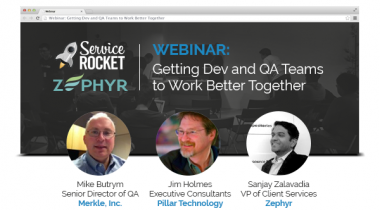 Getting Dev & QA to Work Better Together Webinar