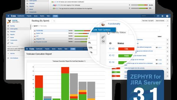 Zephyr for JIRA Server 3.1